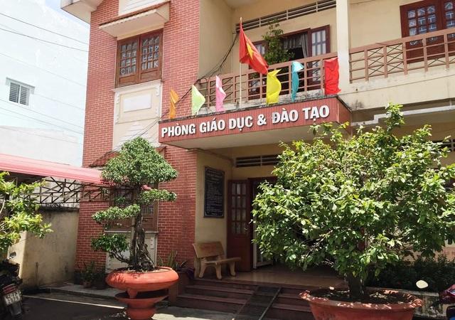 Phòng Giáo dục và Đào tạo, huyện Bến Lức, tỉnh Long An.