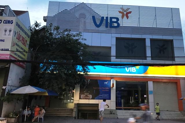 Ngân hàng Quốc tế (VIB), nơi xảy ra vụ việc.