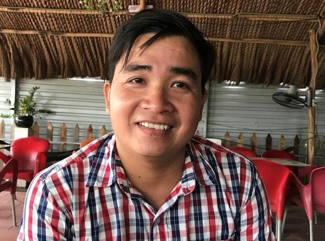 Anh Huỳnh Anh Vũ, nhân viên đường cao tốc TPHCM - Long Thành -Dầu Giây, người mưu trí cứu 4 mẹ con bị điện giật.