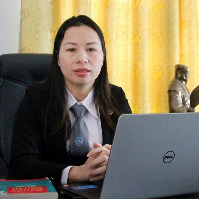 Luật sư Lê Thị Kim Soa
