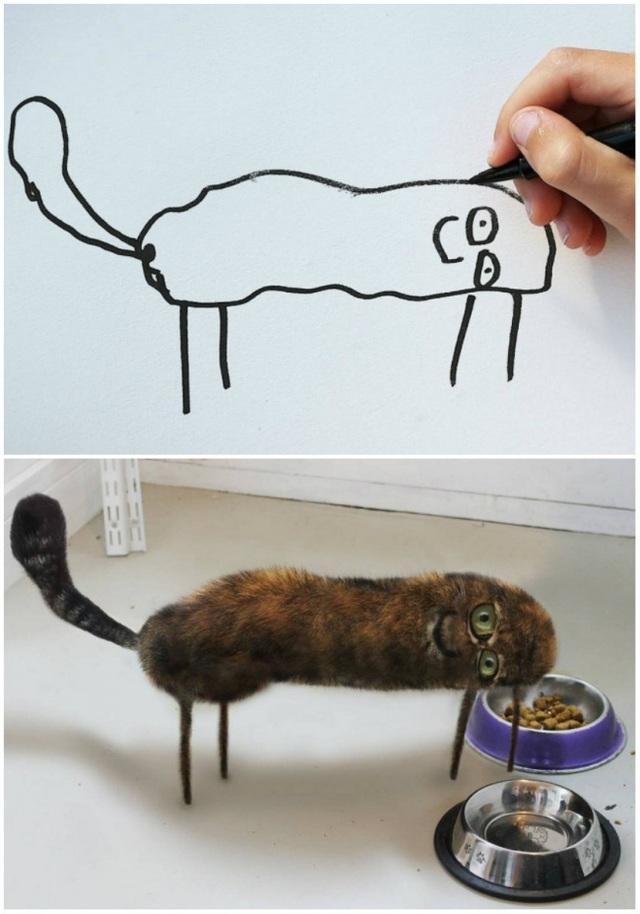 Không quá khó để nhận ra đây là một chú mèo