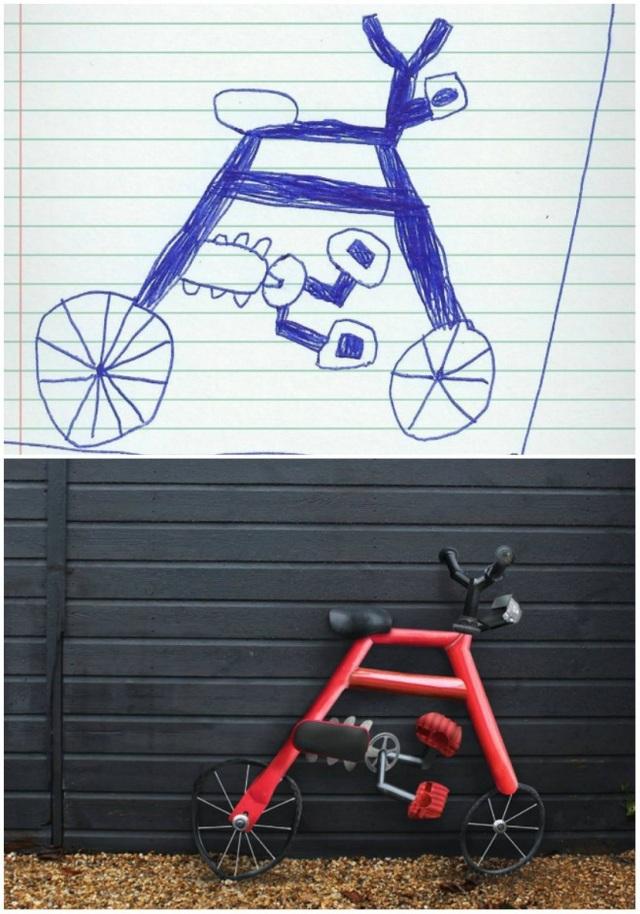 Thêm một ý tưởng độc đáo để thiết kế xe đạp