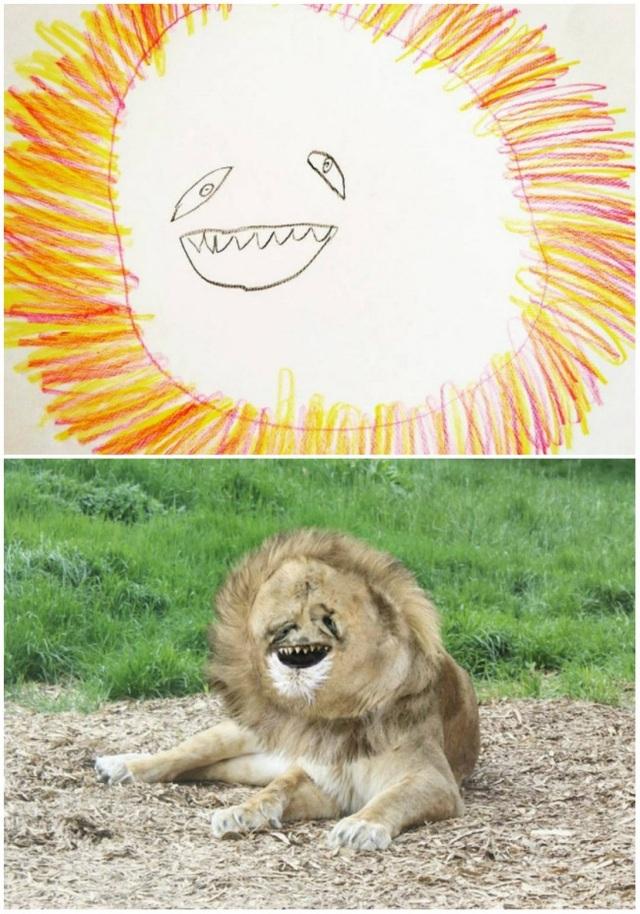 """Nếu sư tử có gương mặt """"thân thiện"""" thế này liệu chúng ta có còn hoảng sợ chúng?"""