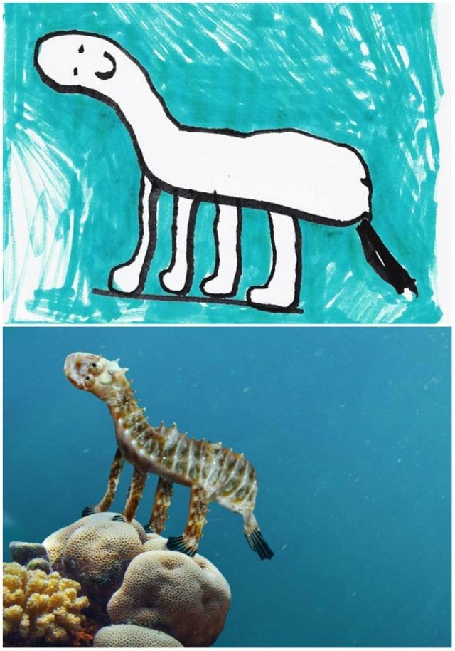 Cá ngựa hay khủng long?