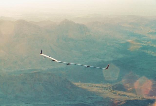 Aquila là dự án để phủ sóng Internet trên toàn cầu bằng máy bay không người lái của Facebook