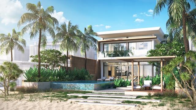 Sự giao hòa giữa thiên nhiên và văn hóa đậm nét Hamptons đã tạo nên một nghệ thuật kiến trúc Resort.
