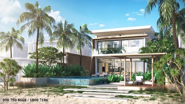 Biệt thự nghỉ dưỡng The Hampton – Tận hưởng cuộc sống thượng lưu và đẳng cấp