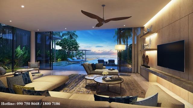 Biệt thự nghỉ dưỡng với nhiều diện tích phù hợp cho nhu cầu của khách hàng