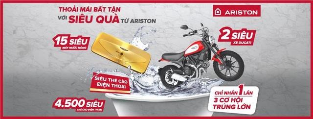 Mua máy nước nóng, trúng ngay siêu xe Ducati - 2