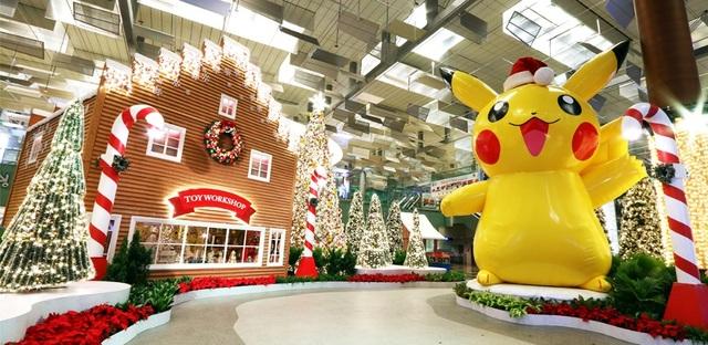 Buổi sáng: Tham quan những khu vườn Pokemon xinh xắn được bố trí khắp sân bay Changi sau khi máy bay hạ cánh.