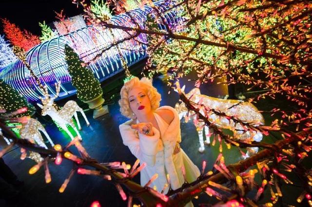 Buổi chiều: Hòa mình trong thế giới ánh sáng lung linh của Santa's All - Star Christmas vừa đạt kỷ lục Guinness 2016 tại Universal Studios Singapore và hội ngộ với những nhân vật nổi tiếng trong trang phục đặc biệt mùa Giáng sinh.
