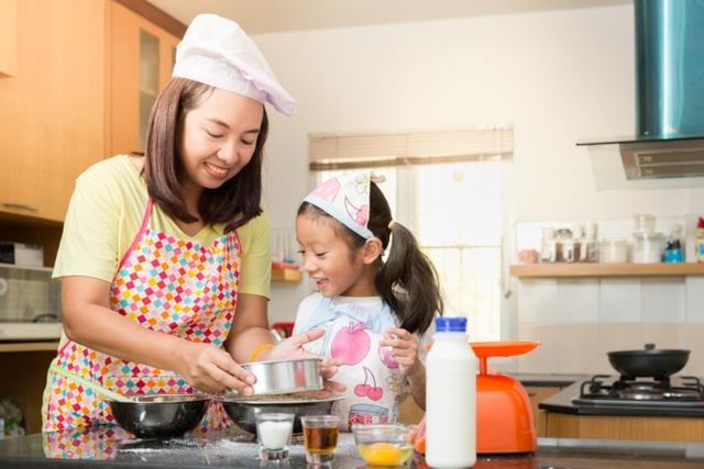 Chọn bánh có vị ngon tự nhiên rất có lợi cho sức khoẻ và thói quen ăn uống của bé
