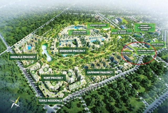 Mặt bằng Tổng thể Dự án Celadon City