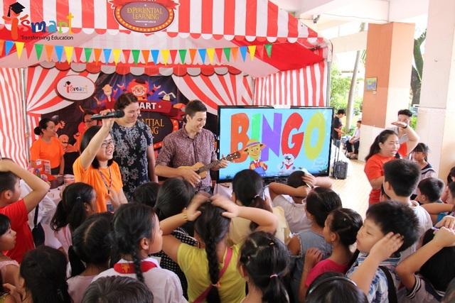 Rộn ràng vui học với Ngày hội tiếng Anh trường tiểu học Phan Chu Trinh