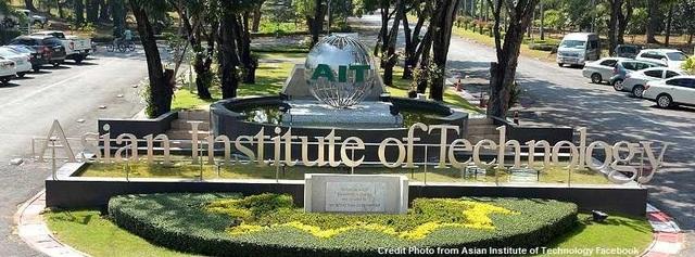 Khuôn viên Viện công nghệ Châu Á tại Thái Lan