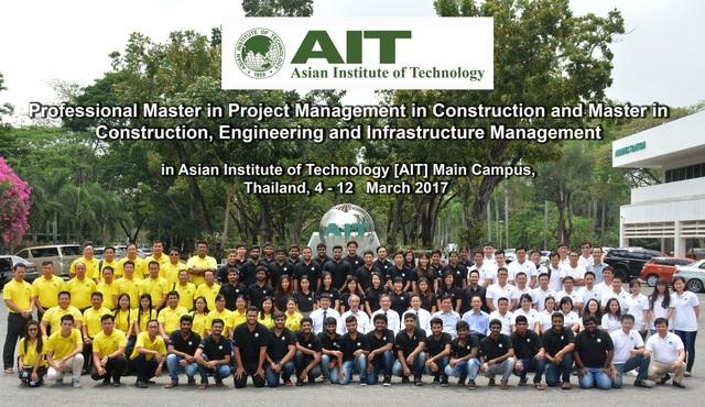 Tham quan học tập quốc tế tại AIT Thái Lan