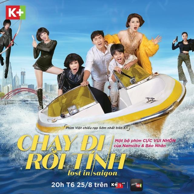 """Phim Việt độc quyền tại gia đáng chờ đợi nhất trong tháng với bắp nổ, nước ngọt, người thân cùng quây quần bên nhau và """"Chạy Đi Rồi Tính"""""""