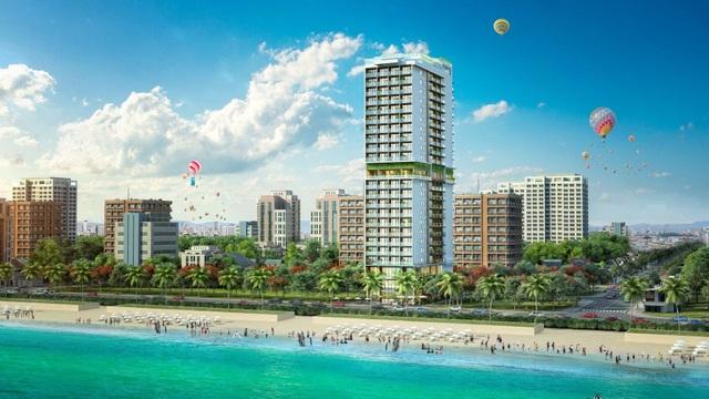 Dự án condotel có tầm nhìn trực diện ra biển sẽ rất thu hút khách đầu tư