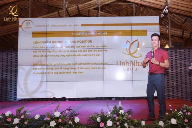 CEO&Founder Trần Minh Tân công bố ra mắt thương hiệu Linh Nham Group