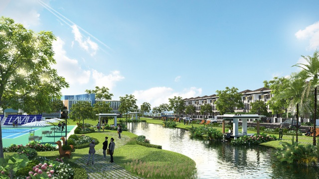 LAVILA thừa hưởng công viên bờ sông 1ha và công viên hồ cảnh quan 4,6ha với thiết kế đẳng cấp và duy nhất, lấy ý tưởng từ công viên nổi tiếng Keukenhof (Hà Lan)