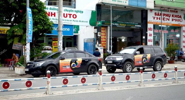 Nở rộ mô hình quảng cáo trên xe ô tô cá nhân - 2