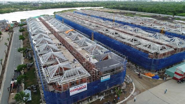 LAVILA có chất lượng xây dựng tốt và tiến độ xây dựng nhanh chóng