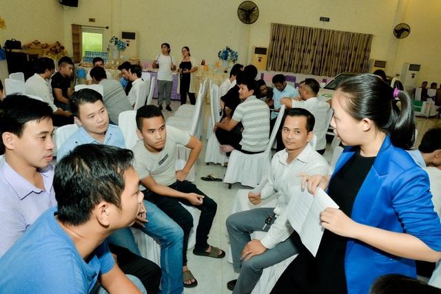 Đối tác Grab tham gia thực hành kỹ năng xử lý tình huống tại Học viện tài xế 6 sao