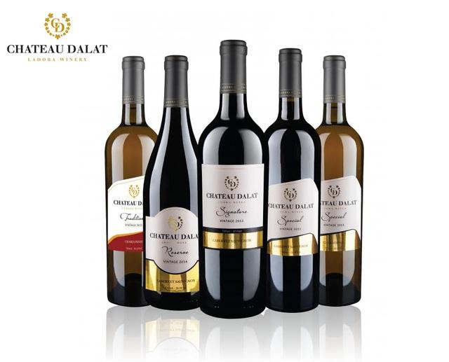Chateau Dalat – thương hiệu vang thượng hạng của nhà làm vang Ladora Winery