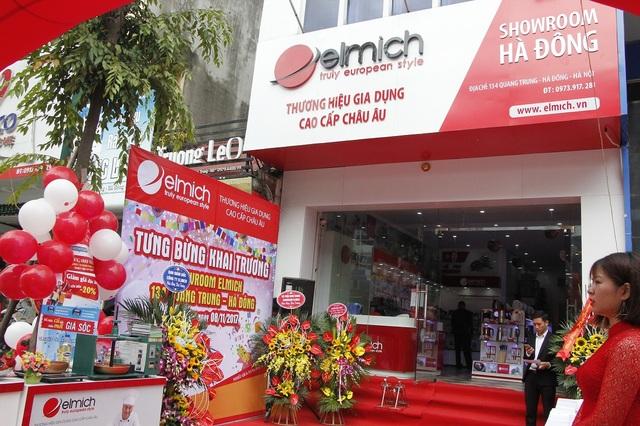 Showroom Hà Đông, 134 Quang Trung, Hà Đông là showroom thứ 5 của Elmich tại Hà Nội