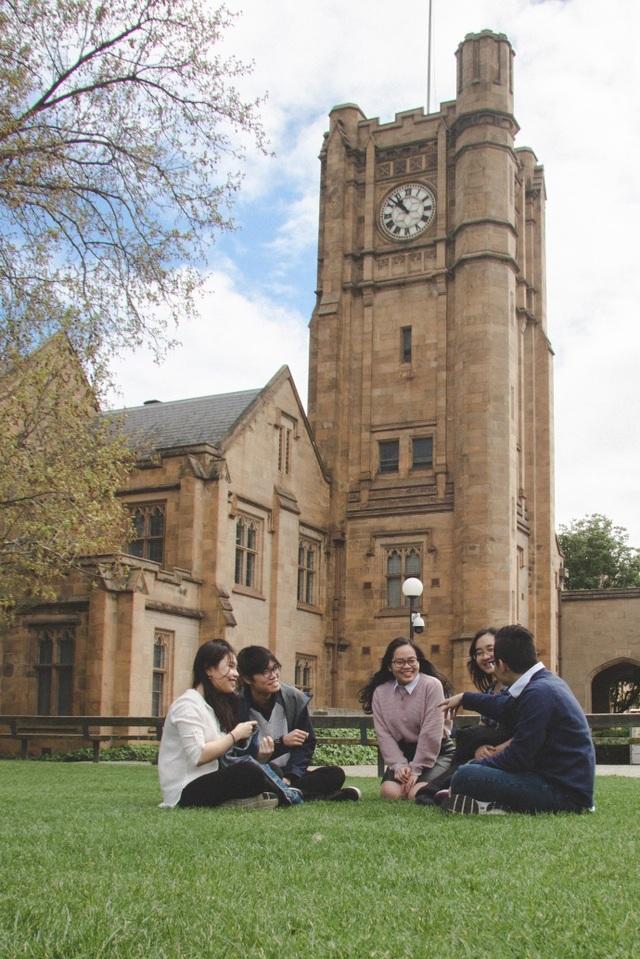 Đại học Melbourne, bang Victoria, Úc