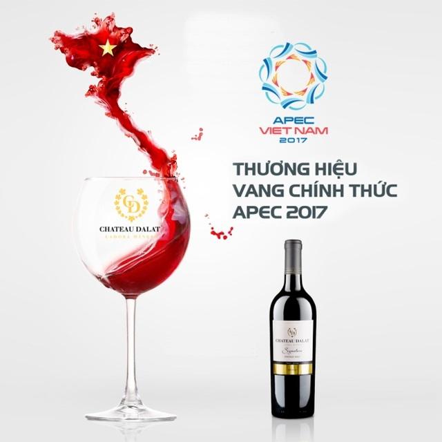 Chateau Dalat – thương hiệu vang chính thức của APEC 2017