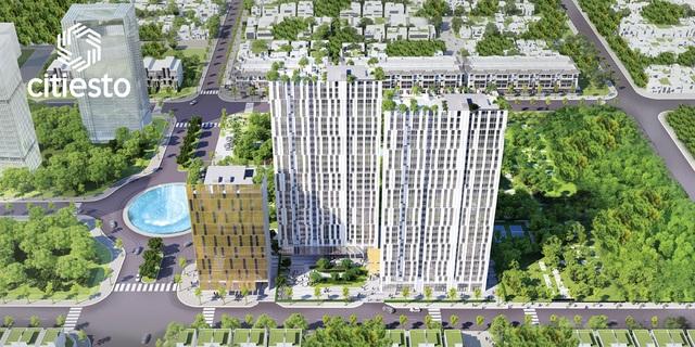 Các căn hộ đều được tính toán bố trí hợp lý giúp tăng tối đa khả năng thông gió và đón ánh sáng tự nhiên nhưng vẫn đảm bảo không có góc chết.