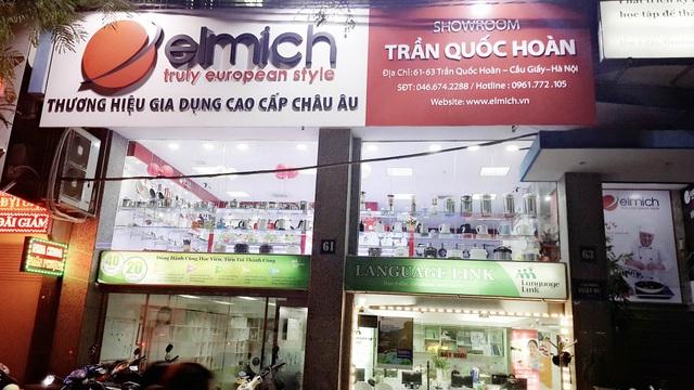 Showroom Elmich Trần Quốc Hoàn