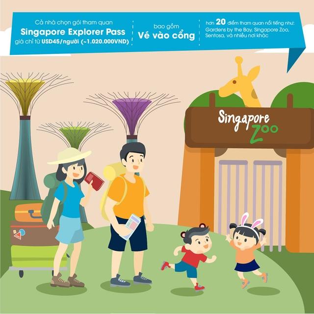 Bí kíp du lịch Singapore với gói dịch vụ dành cho gia đình - 5