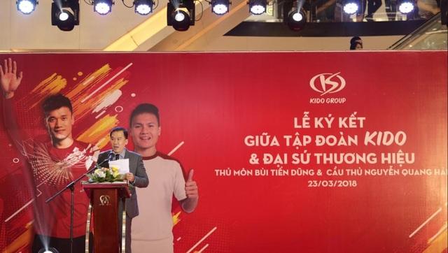 Đại diện KIDO phát biểu tại sự kiện