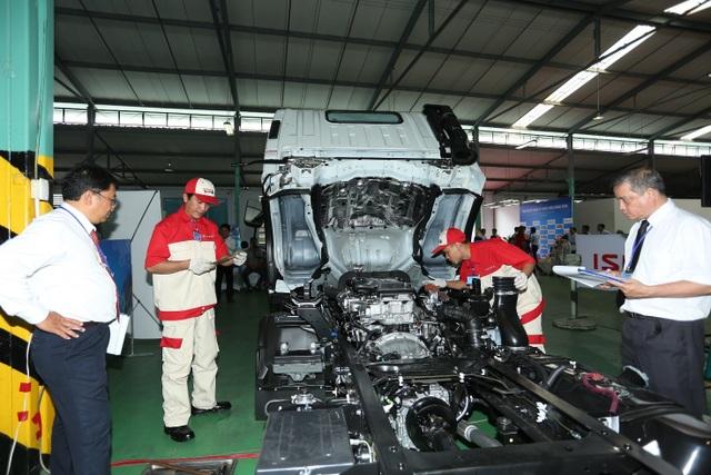Huấn luyện đào tạo đội ngũ nhân sự bài bản chuyên nghiệp - hoạt động thường xuyên trong hành trình 10 năm kinh nghiệm Common Rail của Isuzu Việt Nam.
