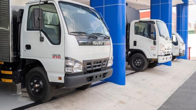 Thế hệ xe tải mới Isuzu Forward & QKR mới đã có mặt tại hệ thống Đại lý 3S của Isuzu