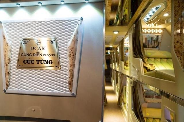 """Cúc Tùng Limousine ra mắt dòng xe DCAR Cung điện di động """"phong cách Hoàng gia"""" - 4"""