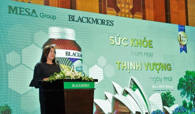 Blackmores đã chính thức ra mắt sản phẩm tại Việt Nam thông qua nhà phân phối được ủy quyền – Mesa Group.
