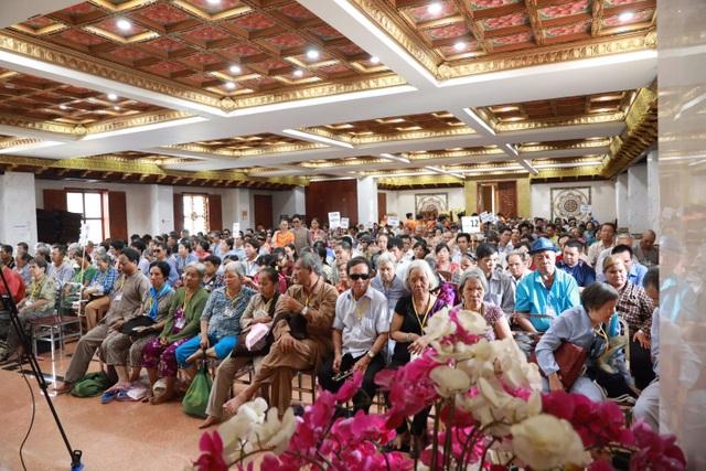 """Hơn 800 người khiếm thị đã được nhận phần quà """"yêu thương"""" từ tập đoàn TLM"""