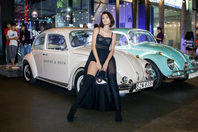 Người mẫu Cao Thiên Trang cá tính