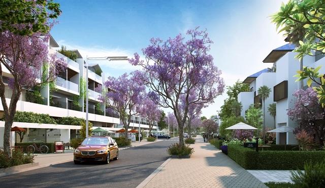 Orchard New City mang lại chốn an cư và kinh doanh hoàn hảo cho cư dân.