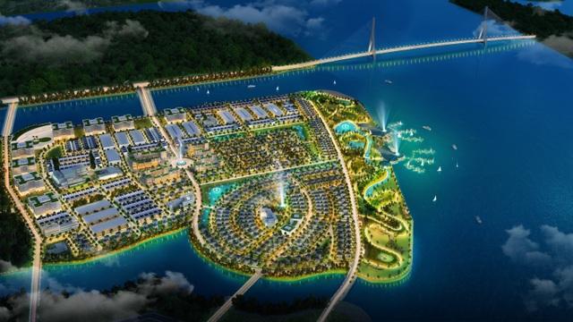 Vị chí chiến lược ở vùng ven Sài Gòn xuất hiện ngày càng nhiều dự án quy mô lớn, như dự án King Bay của chủ đầu tư FreeLand