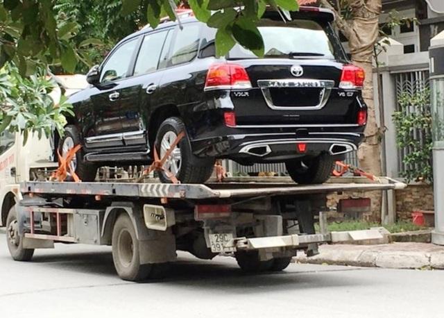 Xe Toyota được Công ty Hoa Lư tặng cho tỉnh Ninh Bình nhưng đã bị tỉnh trả lại (ảnh minh họa)