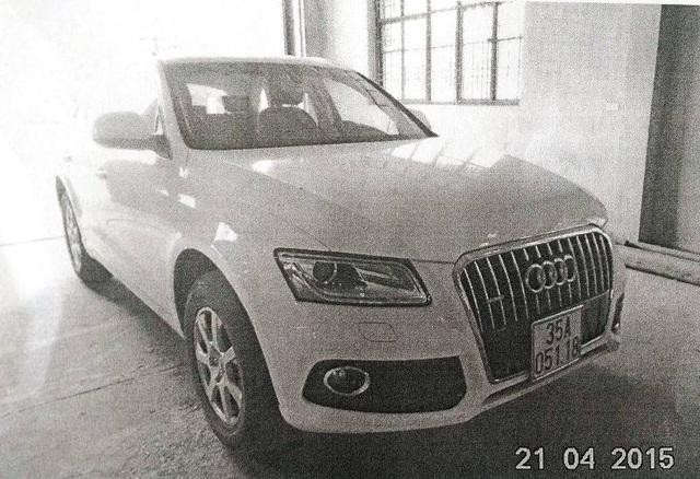 BKS 35A - 051.18 được đăng ký cho một chiếc xe Audi của một phụ nữ ở thành phố Tam Điệp.