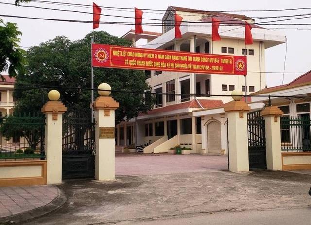 Văn phòng HĐND và UBND huyện Nho Quan được tặng chiếc Fortuner. Hiện đơn vị này đang sử dụng dư 2 xe công, vượt số lượng theo quy định (ảnh: Thái Bá)
