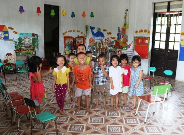 """Ninh Bình: Trường mầm non """"vừa học vừa xây dựng"""" - 3"""