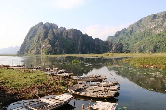 Cảnh sắc hoang sơ tuyệt đẹp ở đầm Vân Long - 5