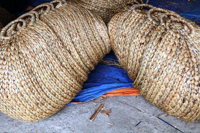 Ở Việt Nam hiện nay, nhiều gia đình cũng đang dần trở lại sử dụng cá sản phẩm thủ công để thay thế cho các loại túi nilong. Các loại túi nilong khi thải ra môi trường phải mất cả trăm năm mới phân hủy hết được, còn các sản phẩm từ thân cây tự nhiên chỉ cần mất một thời gian ngắn vì vậy rất thân thiện với môi trường.