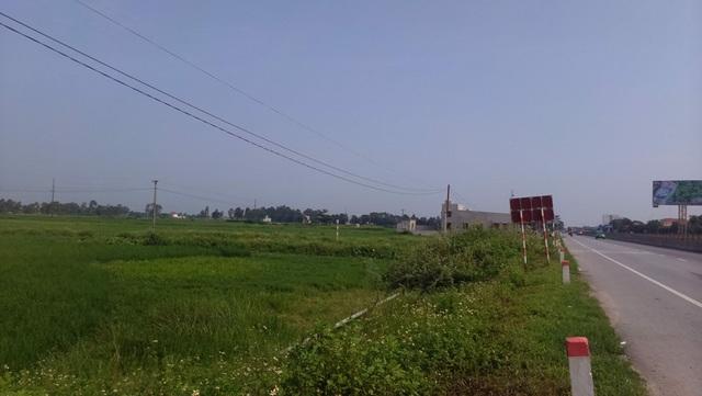 100 lô đất bên quốc lộ thuộc xã Quảng Phong (huyện Quảng Xương, Thanh Hóa) chỉ bán trên...giấy